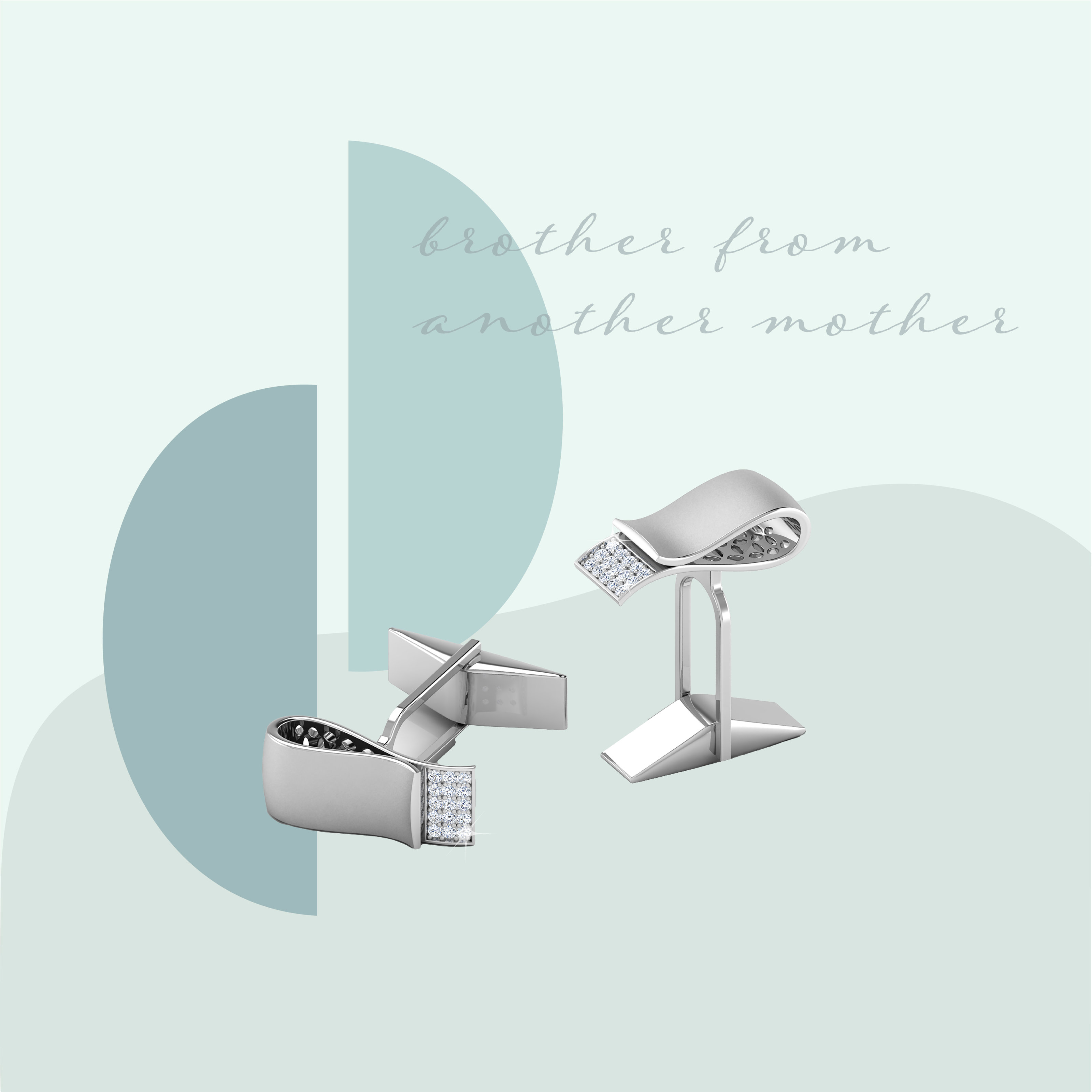Diamond cufflinks that your rakhi brother will love