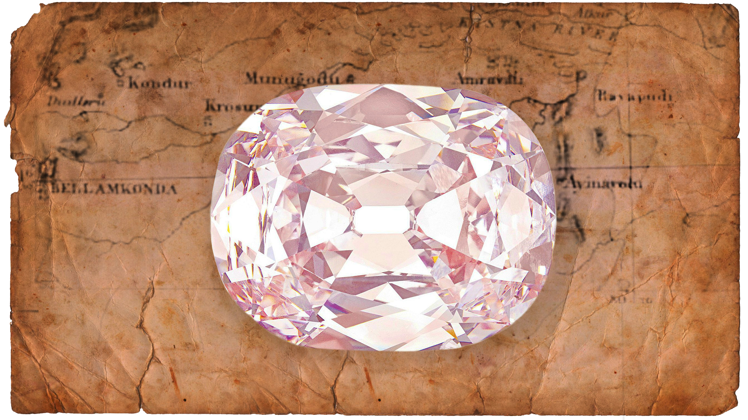 The 34 Carat Natural Pink Diamond