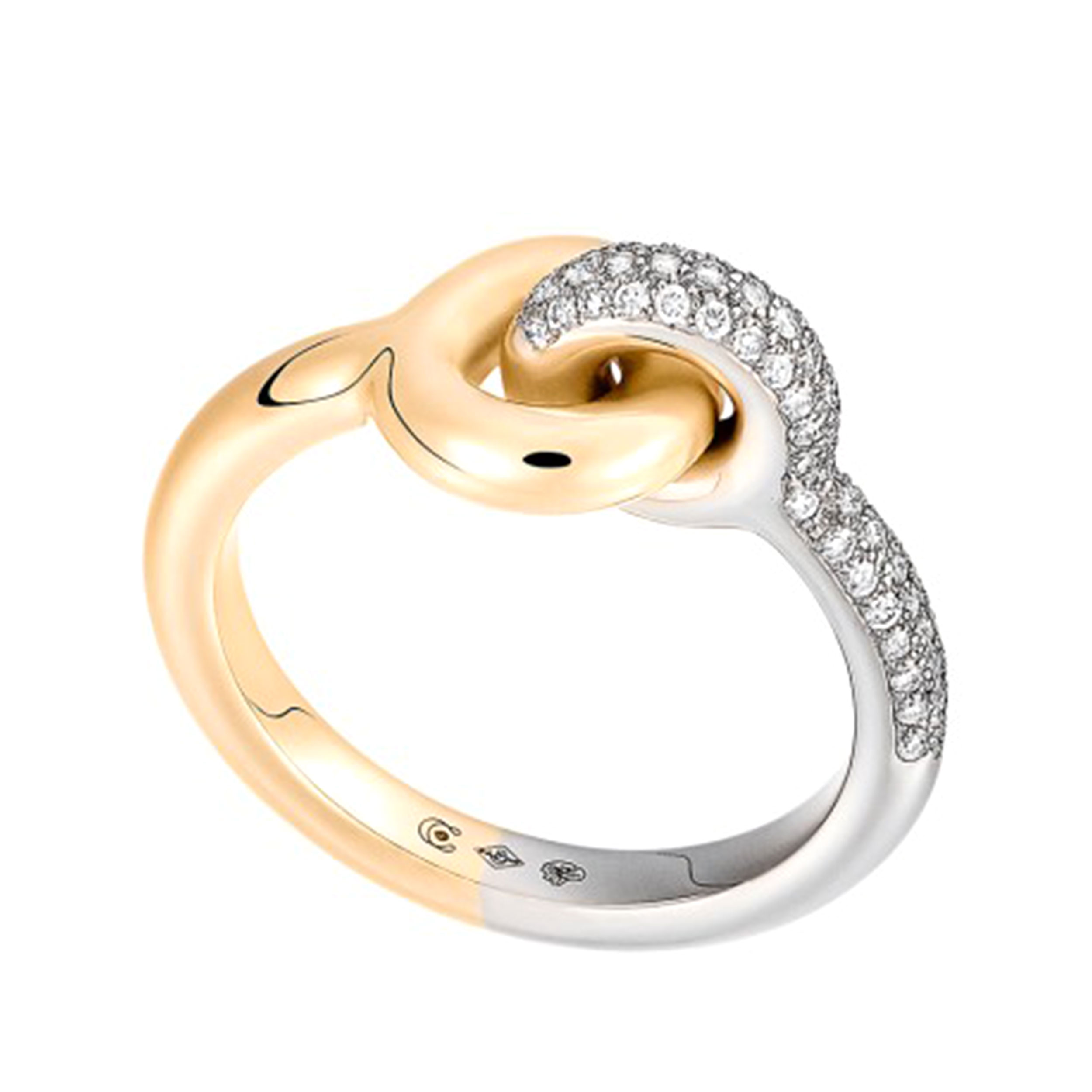 Maxi Twin Pave Ring