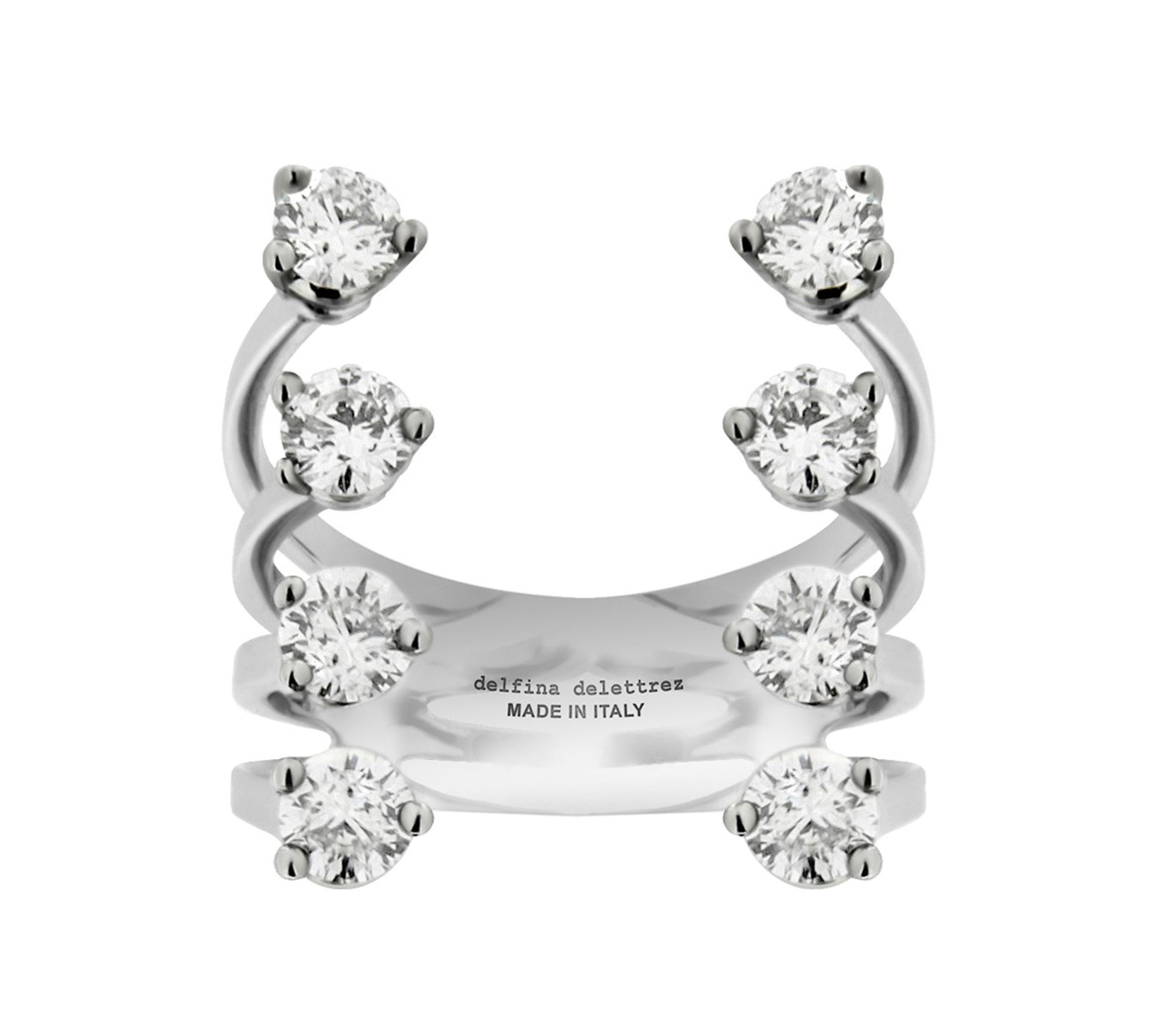 Diamond Dots Ring
