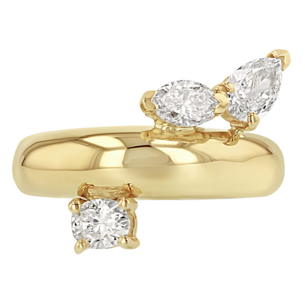 Demi Demi Plus Oval Marquise Pear Ring