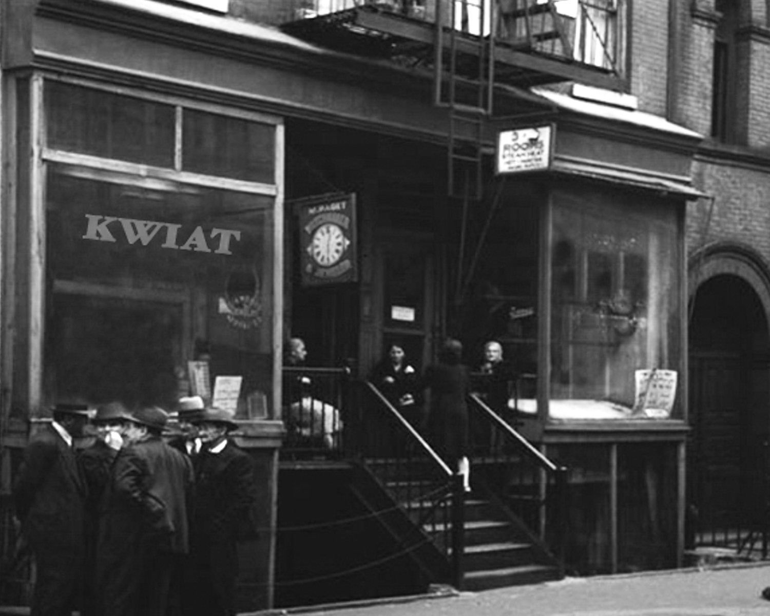 Kwiat NYC storefront in 1907