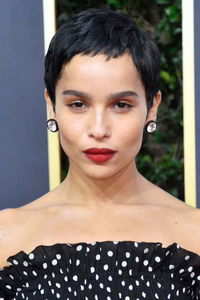 Zoë Kravitz attends the 77th Annual Golden Globe Awards at The Beverly Hilton Hotel on January 05, 2020 in Beverly Hills, California.