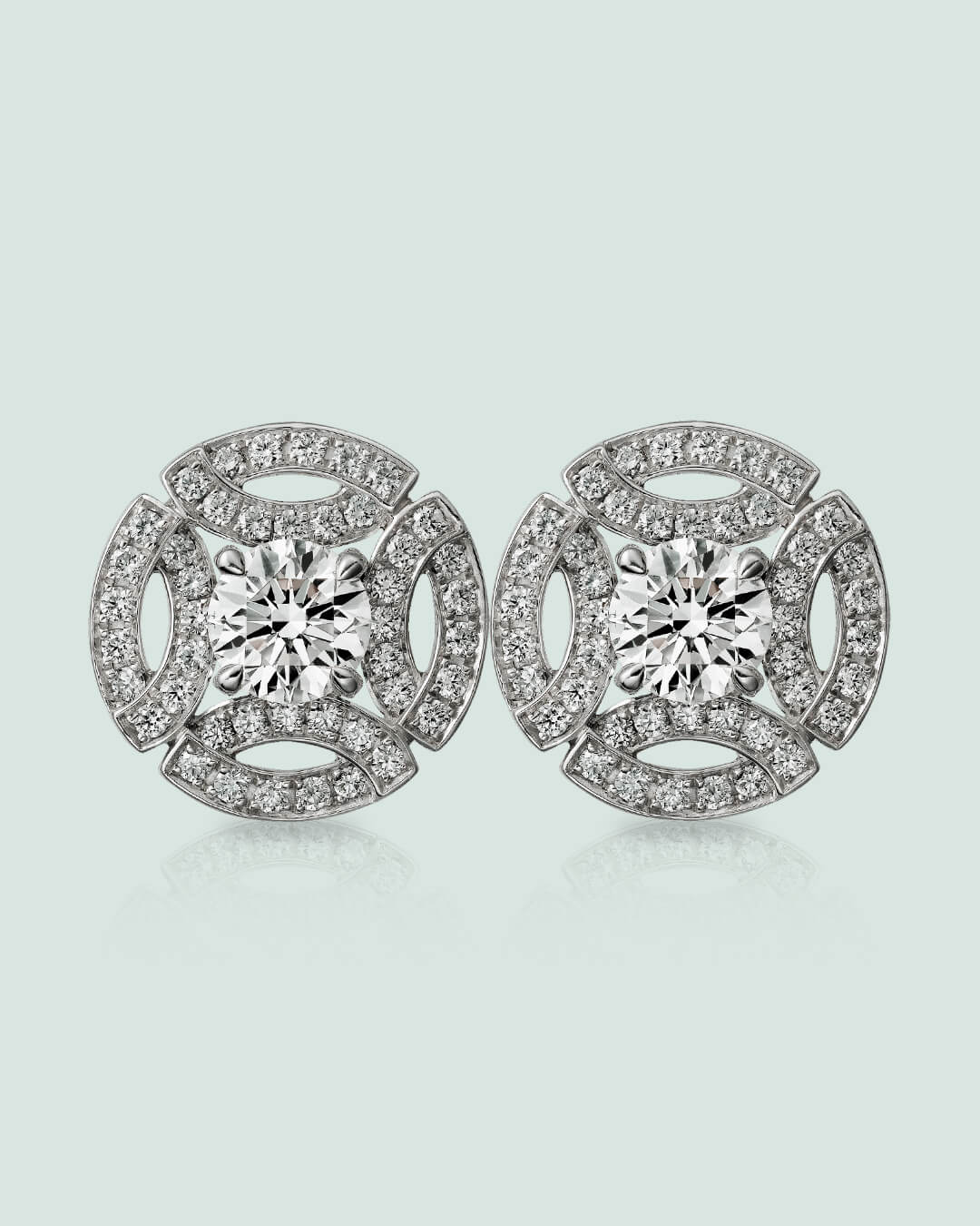 Galanterie earring by Cartier