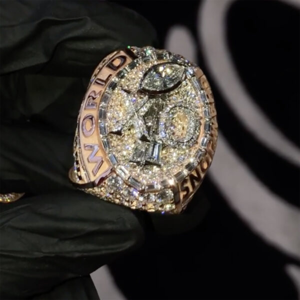 The Weeknd's Super Bowl Ring