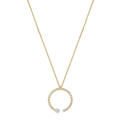 Mommy+Me Diamond Pavé Necklace