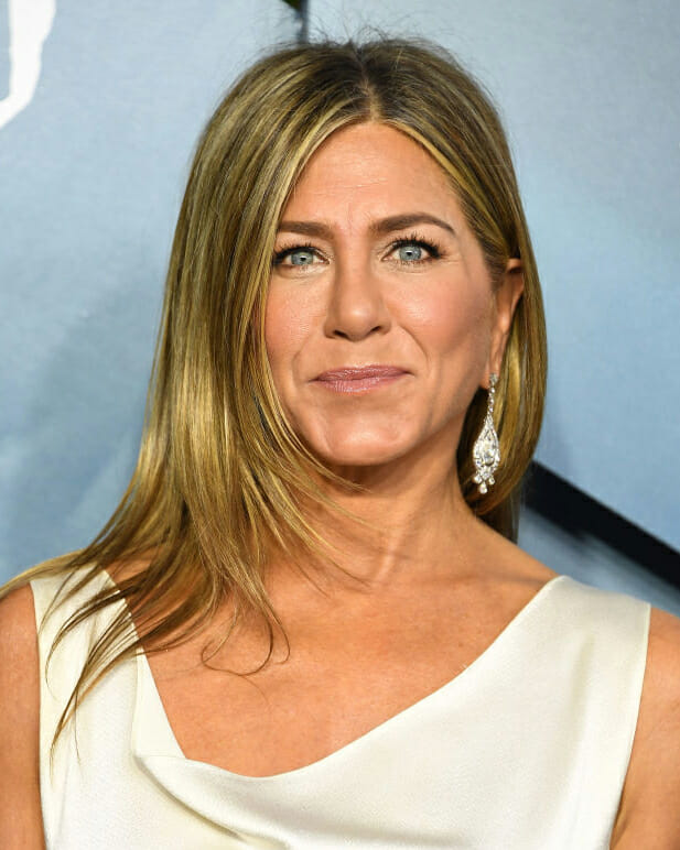 Jennifer Aniston in Fred Leighton diamonds