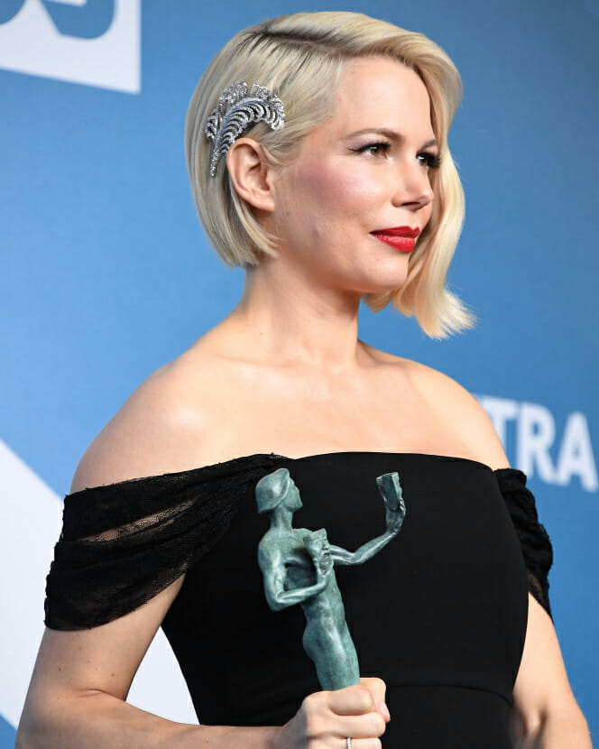 Michelle Williams in Forevermark diamonds