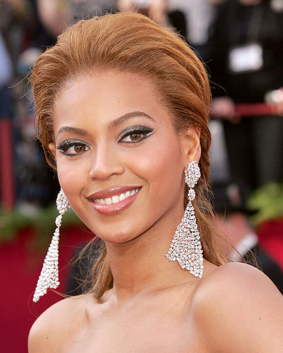 Beyoncé at the Academy Awards in 2005.