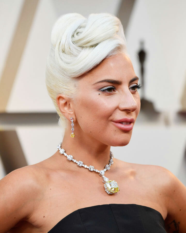 Lady Gaga attends the 91st Annual Academy Awards.