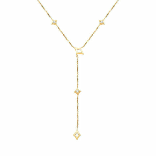 1/10 ct Diamond Lariat Necklace