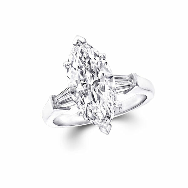 Promise Marquise Cut Diamond Engagement Ring