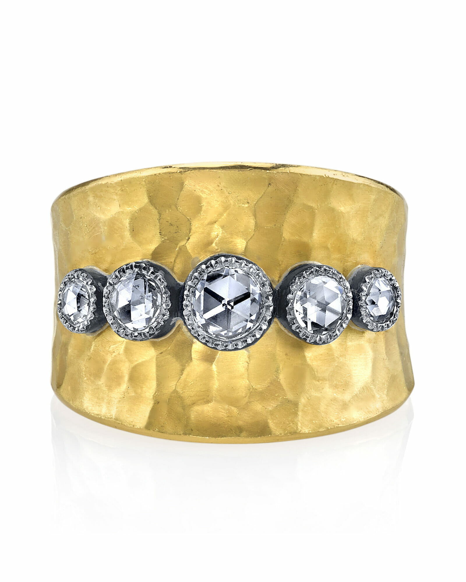 Diamond ring for every budget stacked ring artisan ring