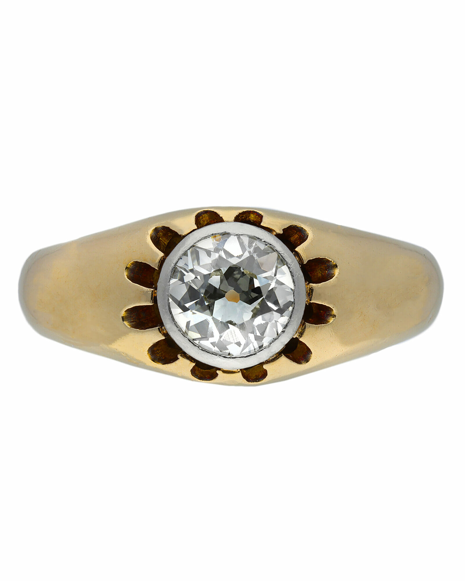 Diamond Wedding Band for every budget vintage ring