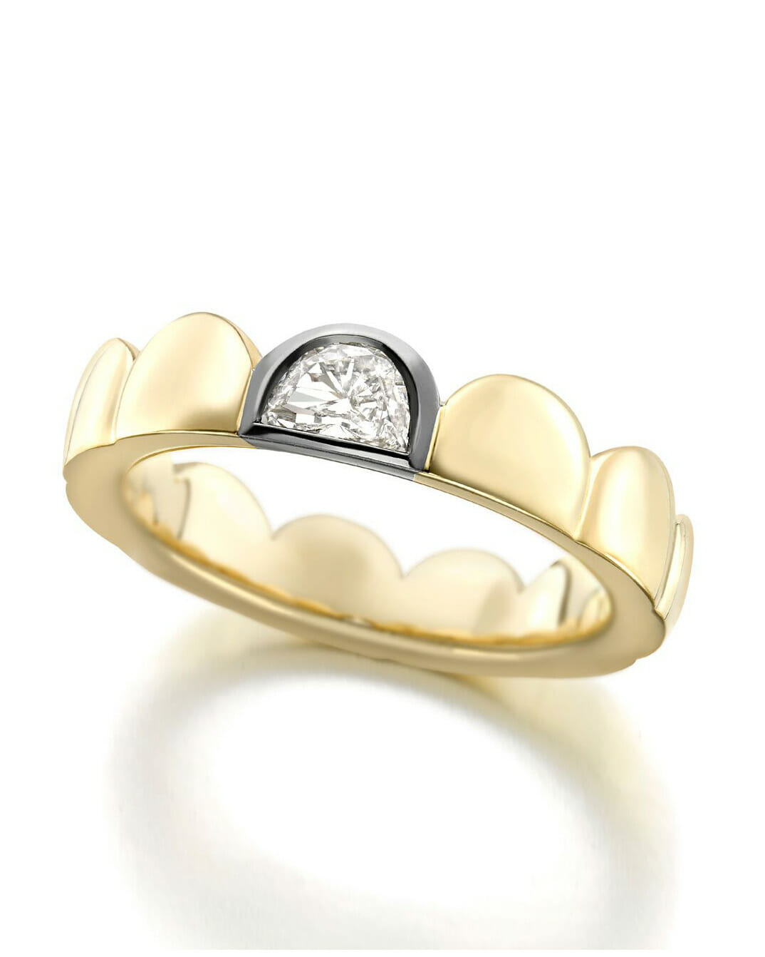 Wedding Band for every budget mixed metal ring