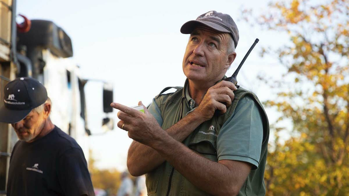 moving giants de beers Kester Vickery co-founder of Conservation Solutions