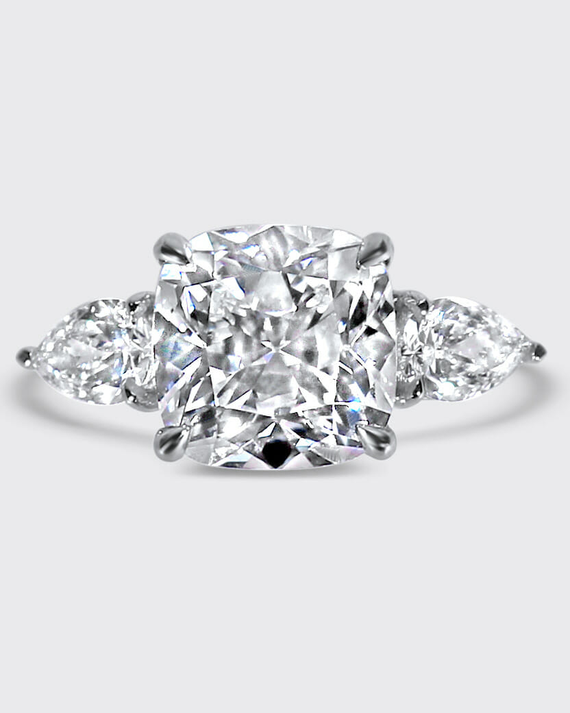 the clear cut don't like engagement ring advice diamond engagement ring