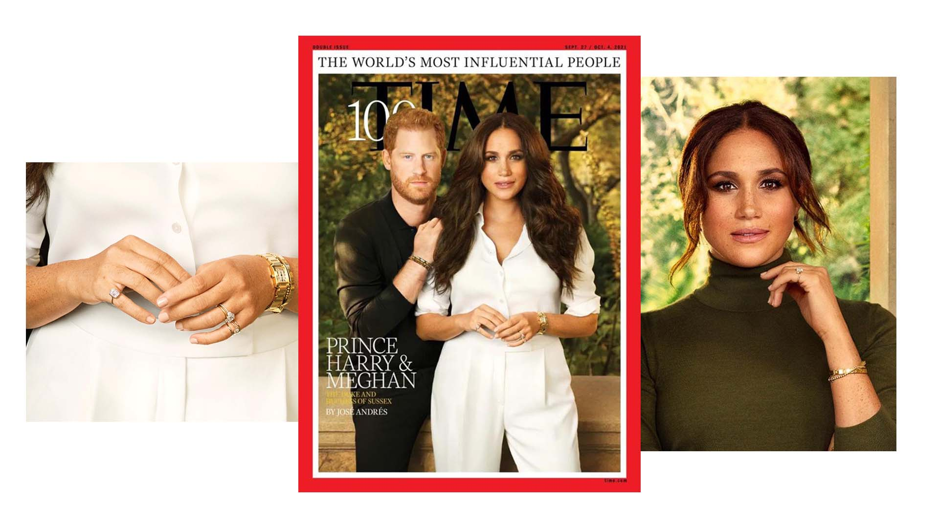 shiffon jewelry  pinky ring megan markle time most influential people